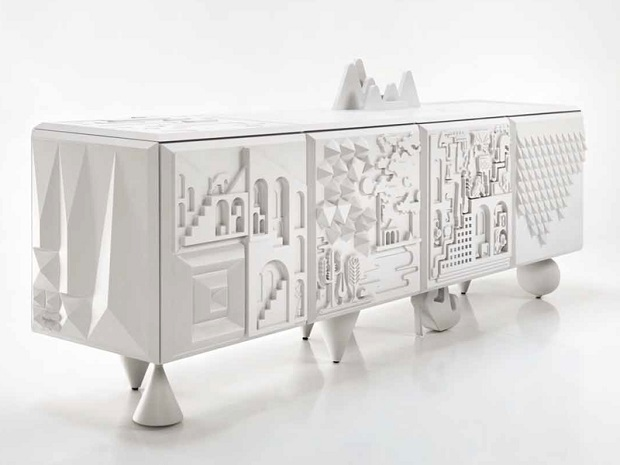 Sideboard by Barcelona Design  White buffets for your design home MDF sideboard