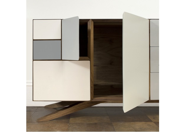 Incunabular Sideboard by Invisible City  White buffets for your design home incunabular by invisible city