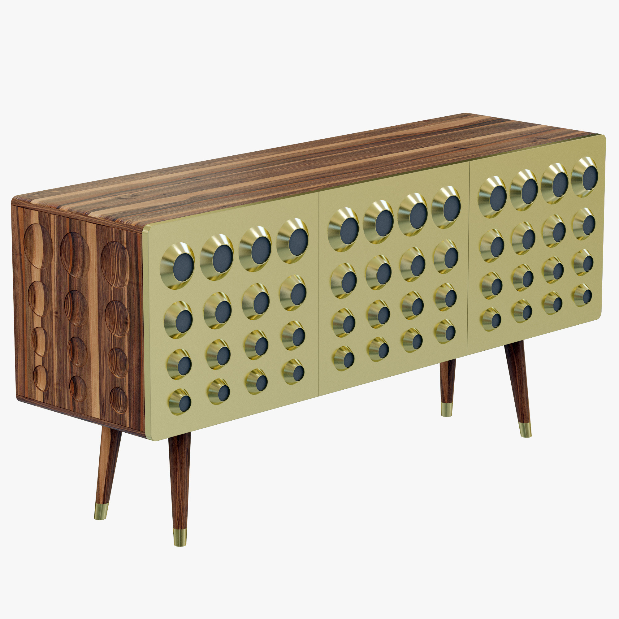 Monocles sideboard by Delightfull (5)  Modern Buffets for a dining room design delightfullMONOCLESSIDEBOARD2