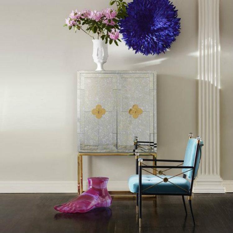 Modern Living Room Design Cabinets