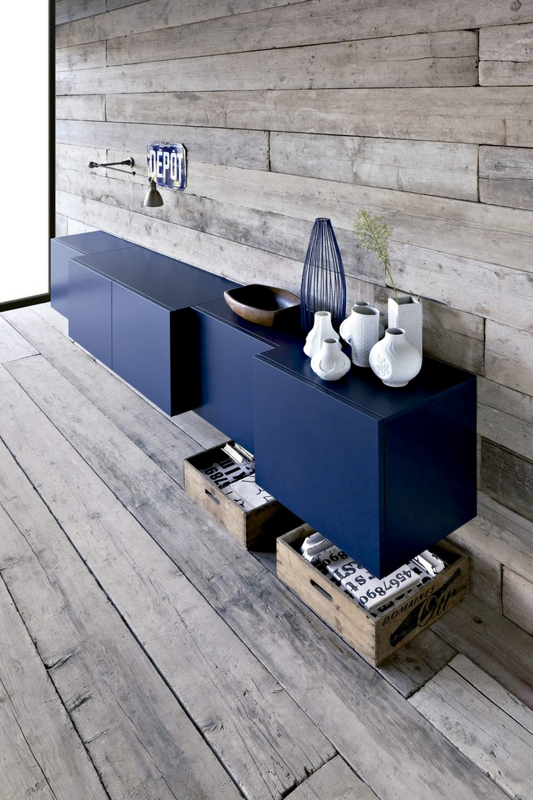 navy blue Navy Blue Buffets and Cabinets Navy Blue Buffets and Cabinets for This Spring 1