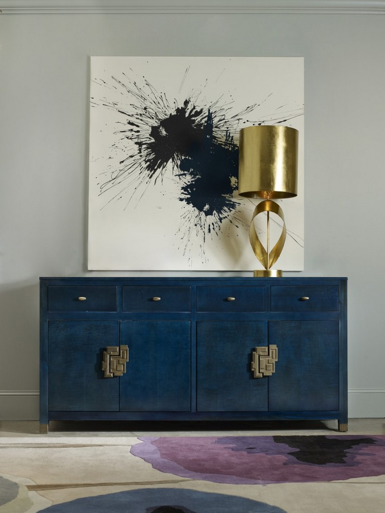 navy blue Navy Blue Buffets and Cabinets Navy Blue Buffets and Cabinets for This Spring 8