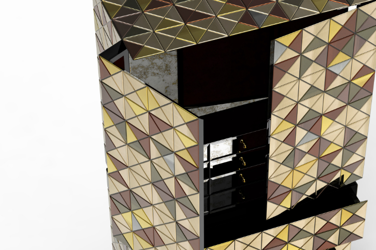 Metal Cabinet Design - PIXEL ANODIZED by Boca do Lobo metal cabinet Metal Cabinet Design - PIXEL ANODIZED by Boca do Lobo Metal Cabinet Design PIXEL ANODIZED by Boca do Lobo
