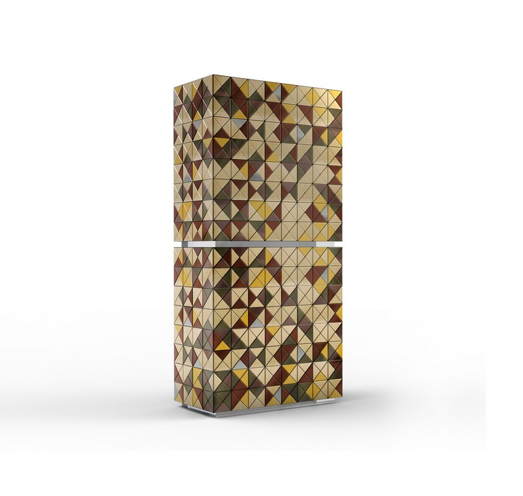 pixel_adonized_02 metal cabinet Metal Cabinet Design - PIXEL ANODIZED by Boca do Lobo pixel adonized 02