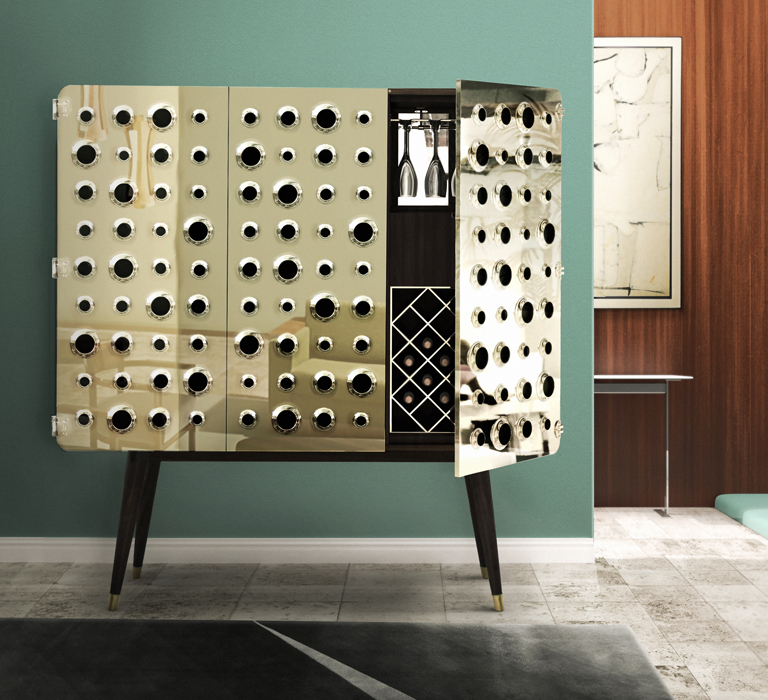 Monocles Cabinet by Delightfull