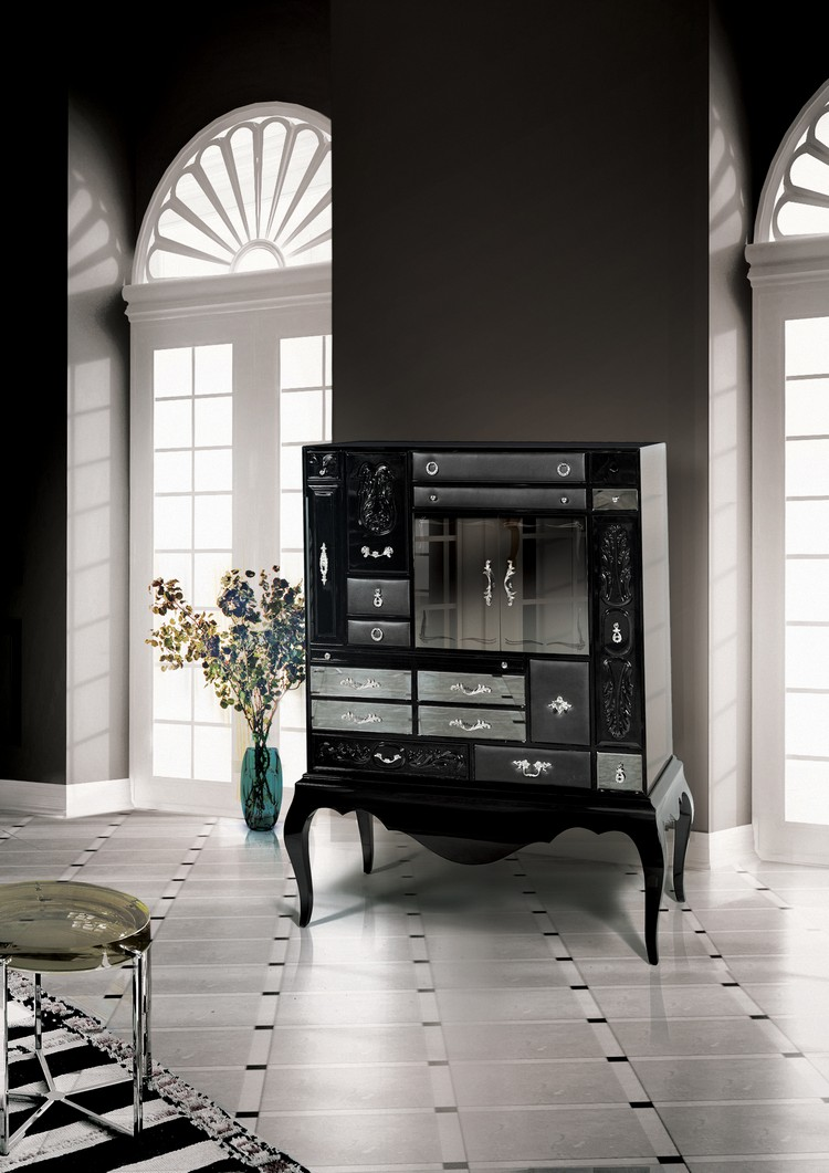 black living room cabinet black cabinets for a modern living room buffets and cabinets 16514