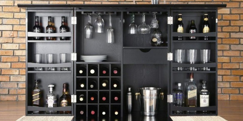 Stunning Bar Cabinets for True Gentlemen