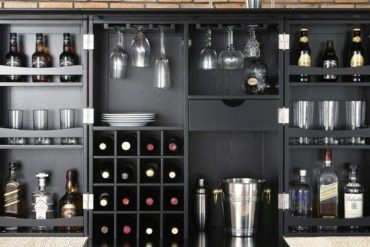 Stunning Bar Cabinets for True Gentlemen