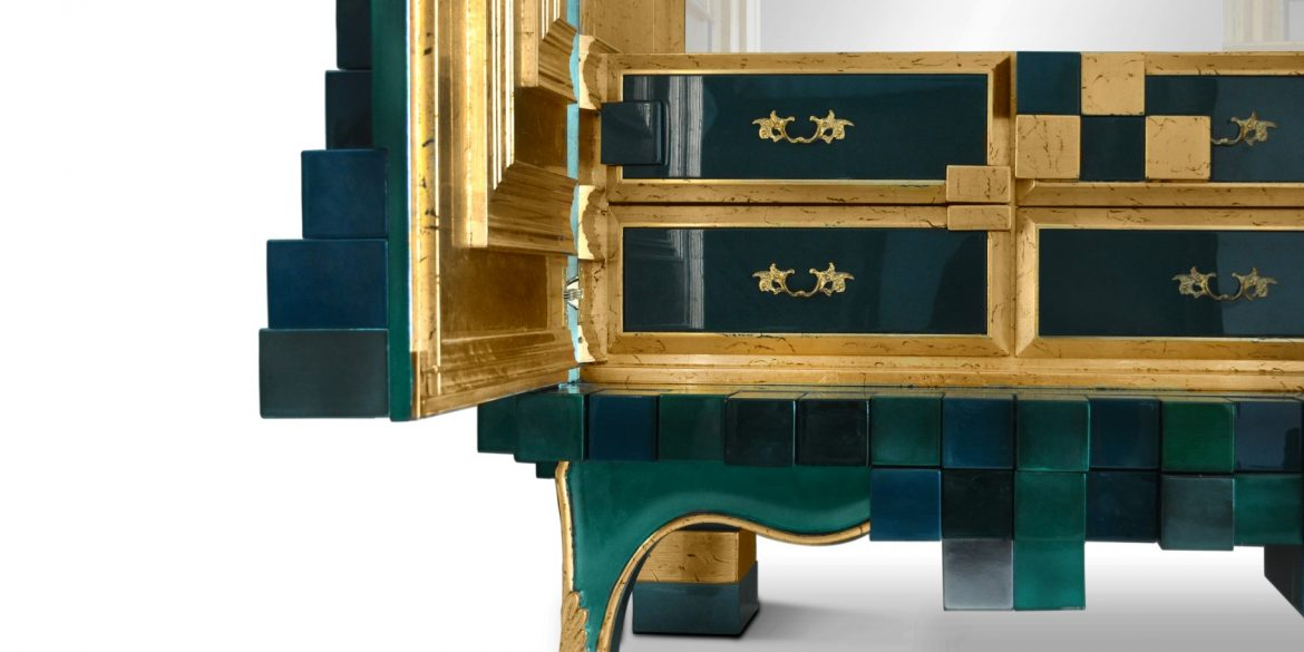 Exquisite Cabinet Designs By Boca do Lobo ft