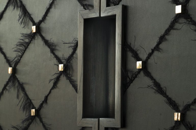 Modern Black Cabinets for A Moody Interior ft