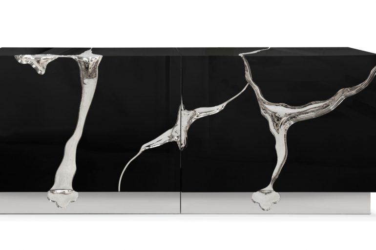 The Lapiaz Sideboard, A Wicked Winter Modern Furniture Collection