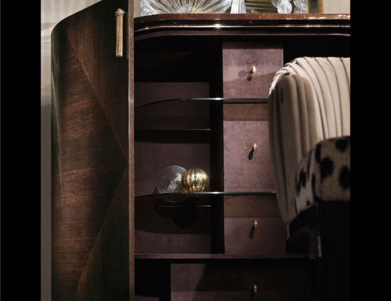 Roberto Cavalli Home's Imposing Luxury Cabinets