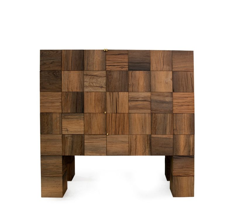 Piet Hein Eeek's Modern Cabinets - Sustainable Art and Design