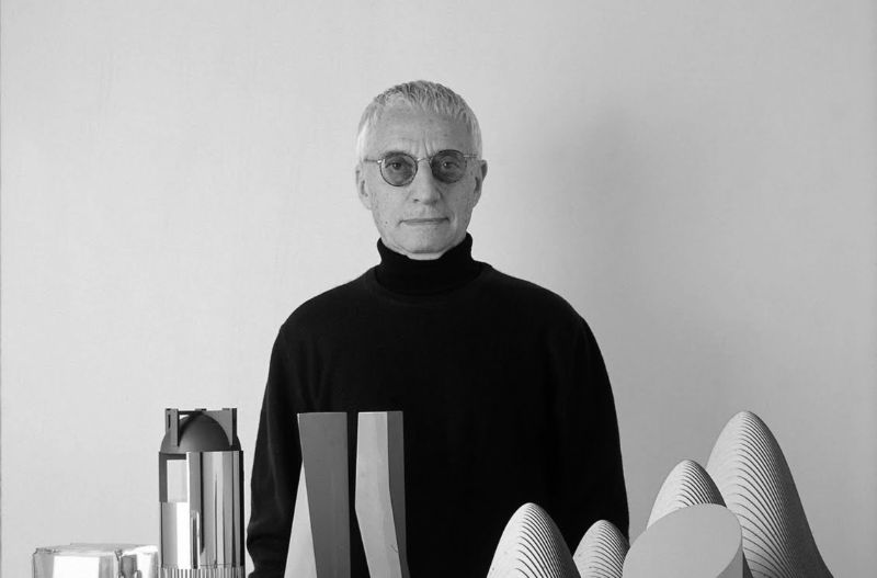 Alessandro Mendini's Other-Worldly Geometric Creations