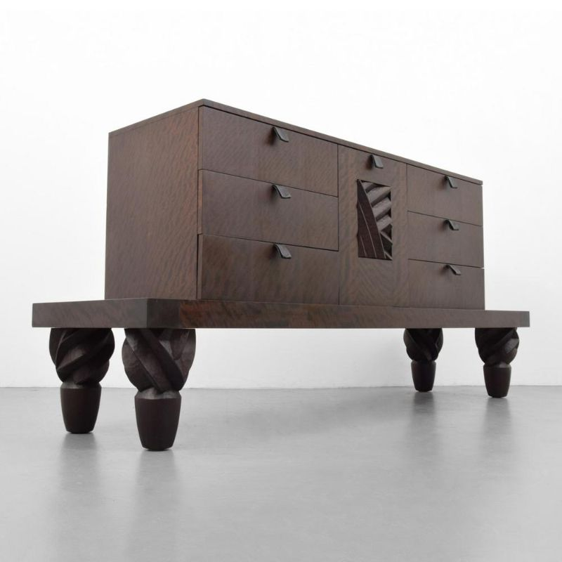 Wood Cabinets by Wendell Castle Like You've Never Seen Before