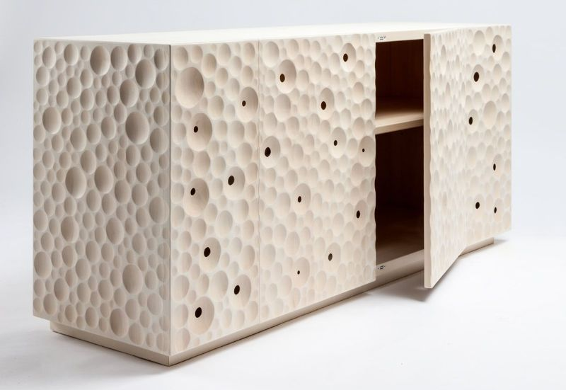 Giuseppe Rivadossi's Crafty Wood Cabinets