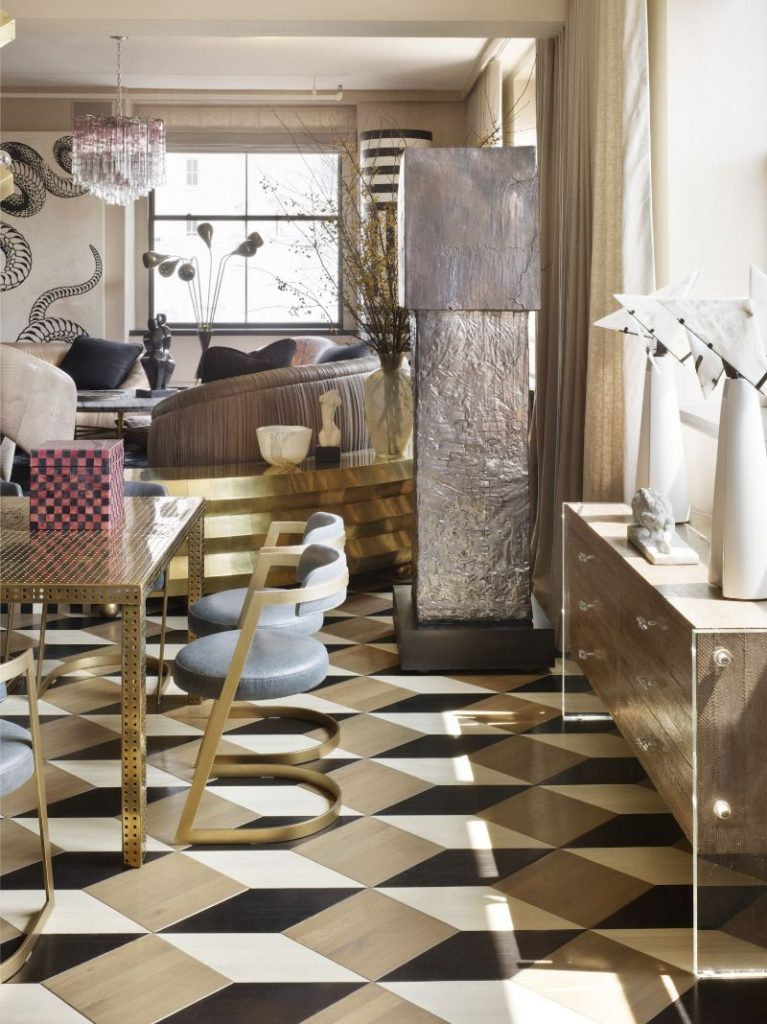 Kelly Wearstler's Most Ambitious Dining Room Projects
