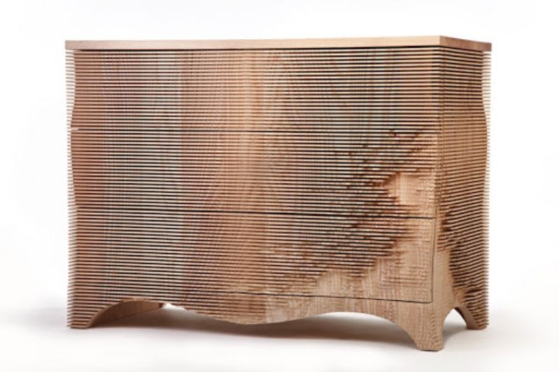 Gareth Neal's Admirable Passion On Wooden-Carved Furniture