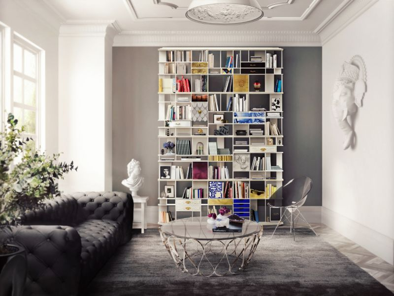 The Coleccionista Bookcase, A Furniture Design That Merges History