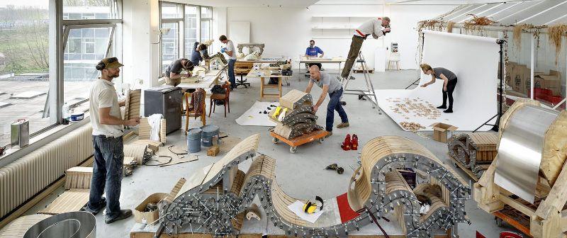 Vortex by Joris Laarman, A Swirling Furniture Design Creation furniture design Vortex by Joris Laarman, A Swirling Furniture Design Creation Vortex by Joris Laarman A Swirling Furniture Design Creation 3