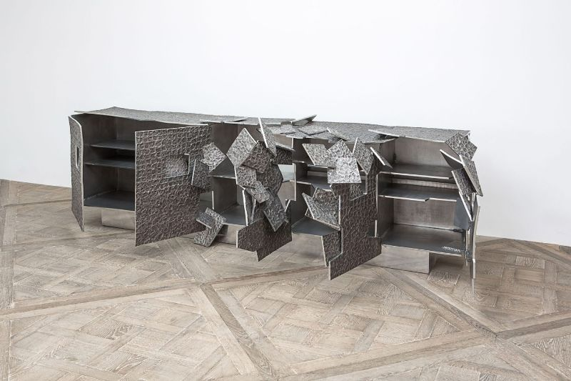Vincent Dubourg's Explosive Modern Furniture Creations