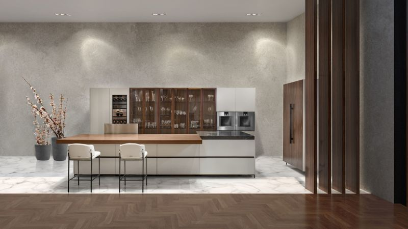 Aston Martin Debuts Its First Kitchen Furniture Design