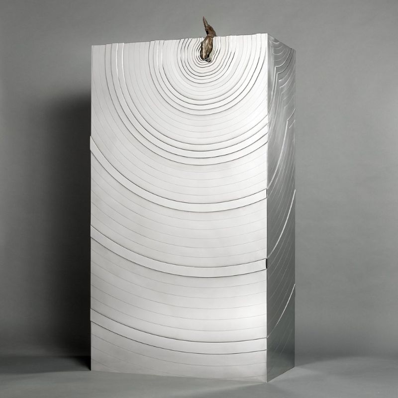 Erwan Boulloud's Meteorite Cabinet