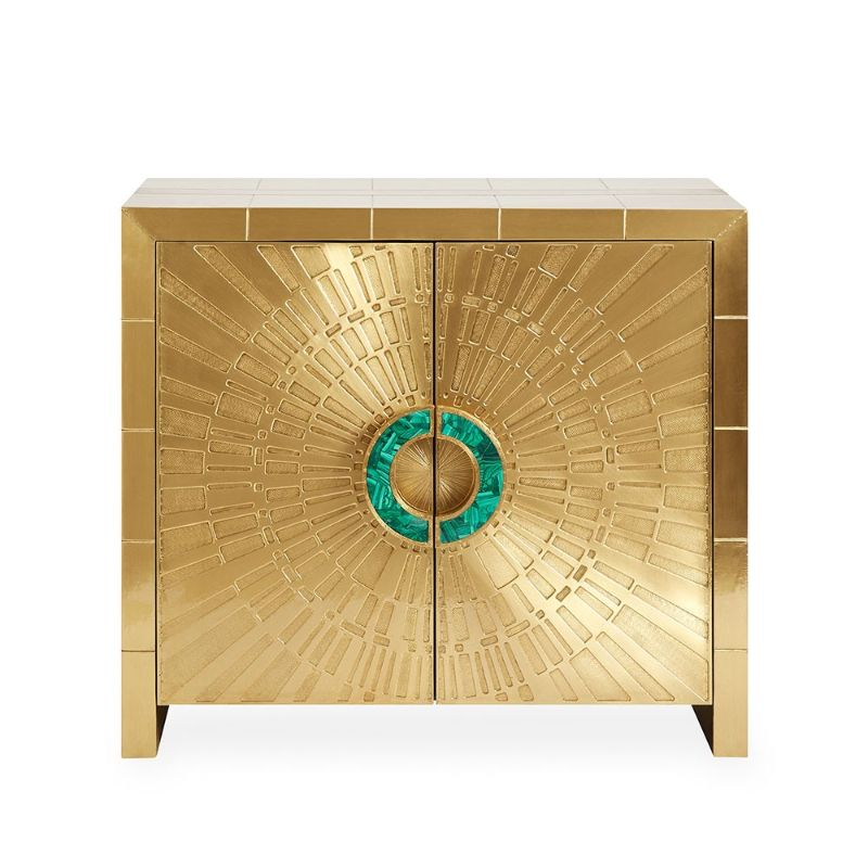 Incredible Brass Details On The Most Luxurious Modern Cabinets  Imposing Furniture: Brass Modern Cabinets For A Luxury Design Incredible Brass Details On The Most Luxurious Modern Cabinets 2