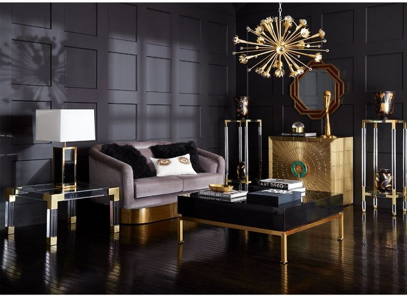 Incredible Brass Details On The Most Luxurious Modern Cabinets  Imposing Furniture: Brass Modern Cabinets For A Luxury Design Incredible Brass Details On The Most Luxurious Modern Cabinets