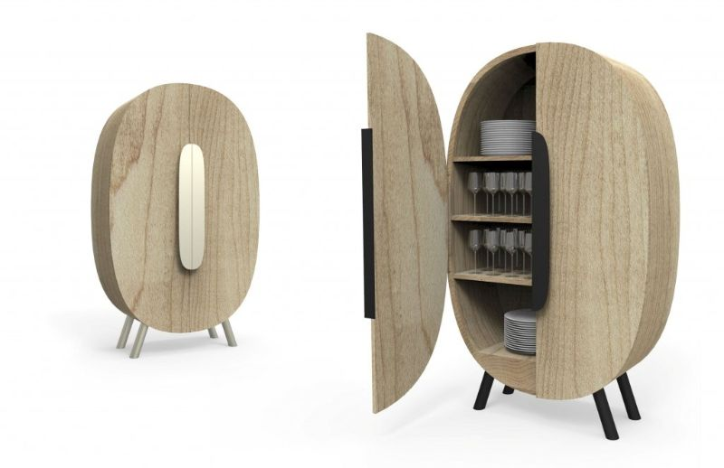 Contemporary Sideboards and Cabinets Designed by Karim Rashid