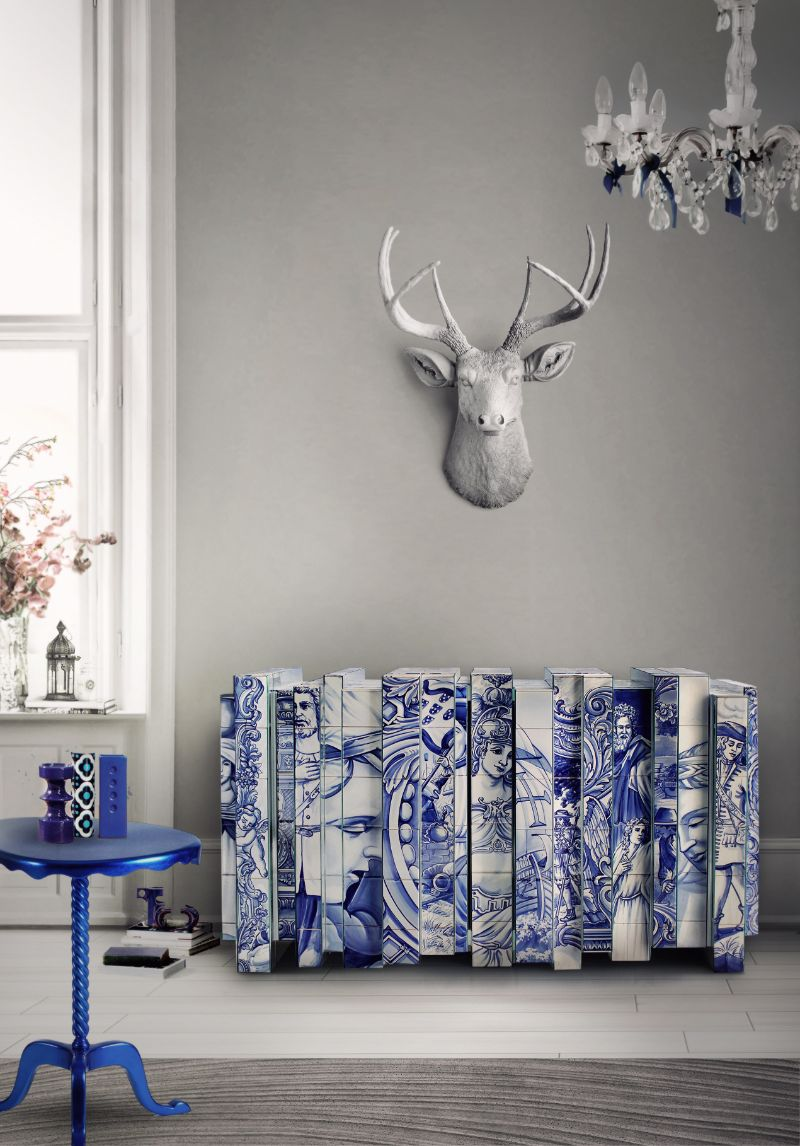 Unique And Luxury Pieces Now Highlighting Hand-Painted Tiles