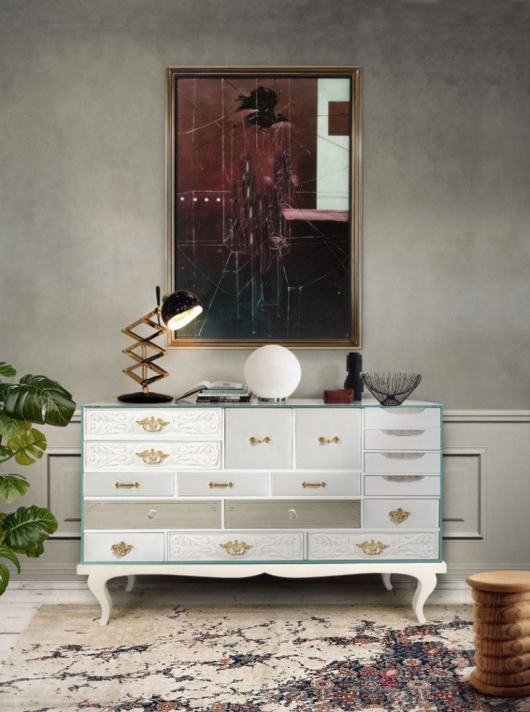 How To Style Your Modern Sideboard