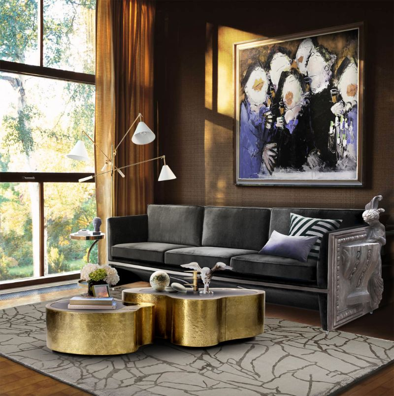 Adapt your modern living room to the fall trends