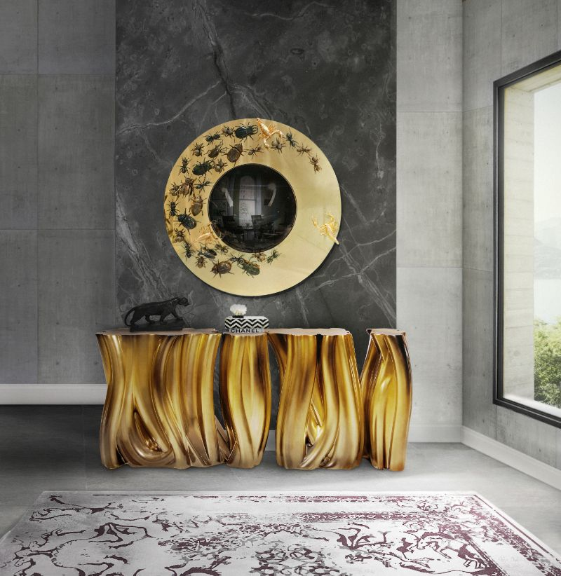 Luxury Mirrors That Will Match Perfectly Your Buffets And Cabinets