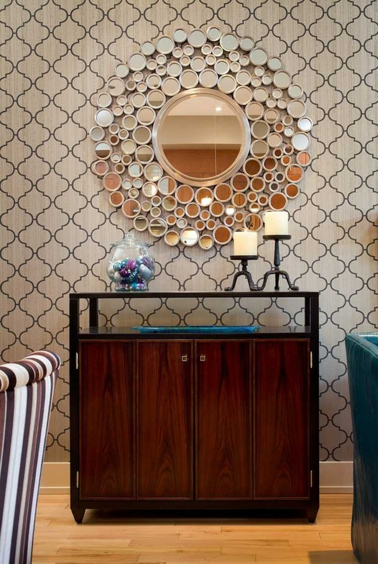 How to Combine Sideboards with Wall Mirrors