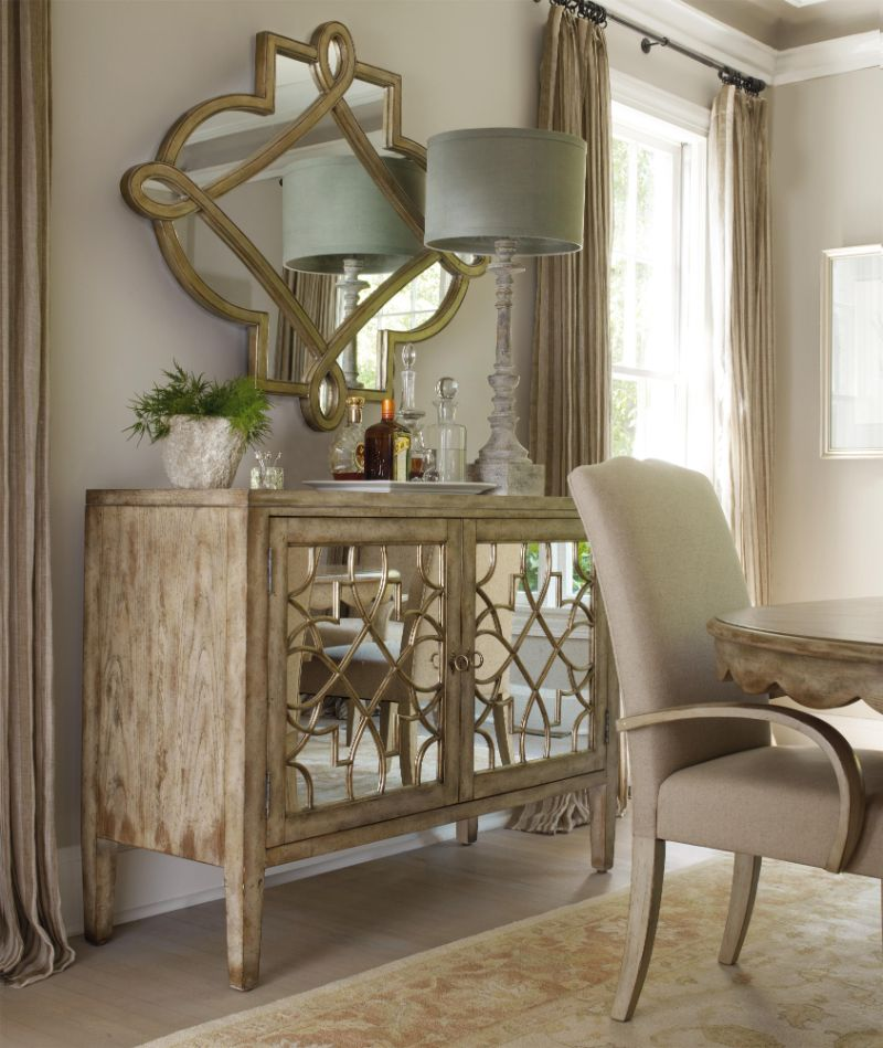 The Best Mirrored Buffets and Sideboards on Pinterest
