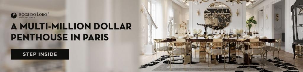 Discover A Parisian Luxury Penthouse By Boca Do Lobo
