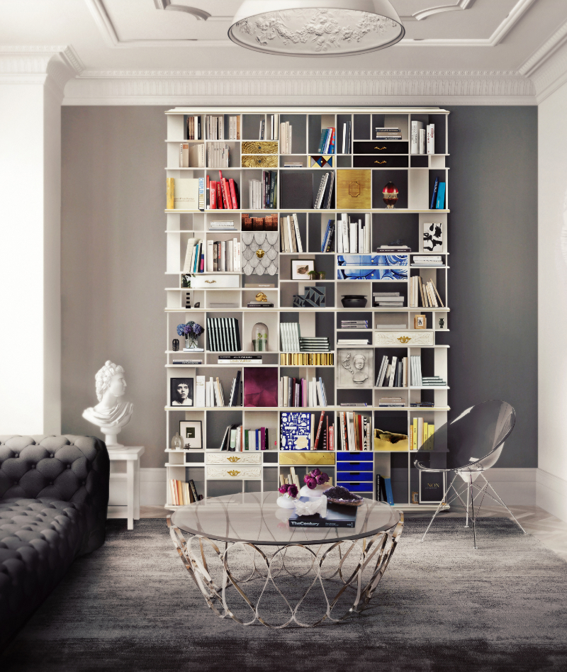 25 Luxury Bookcases For Your Modern Home