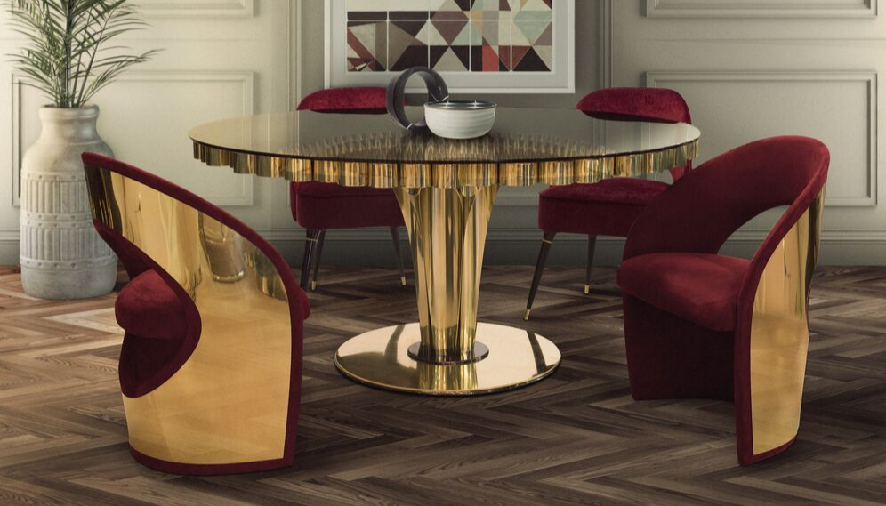 20 Round Luxury Tables For Your Kitchen