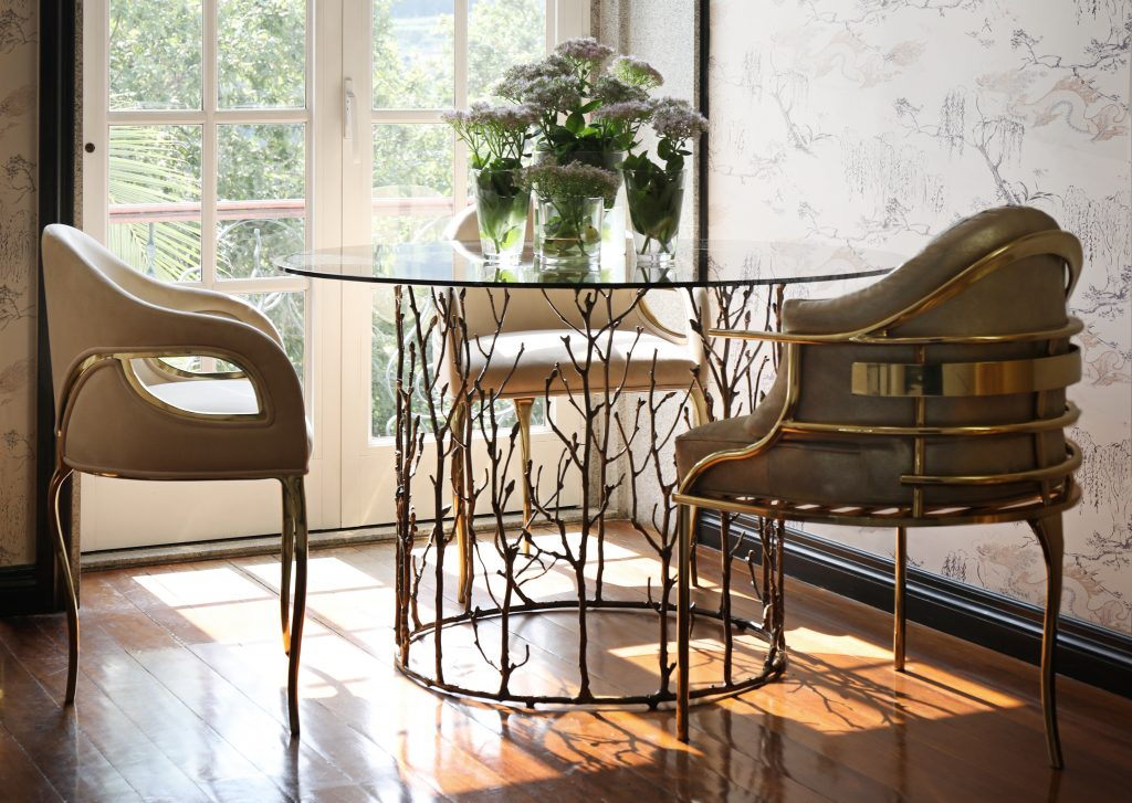 20 Luxury Golden Chairs To Upscale Your Kitchen