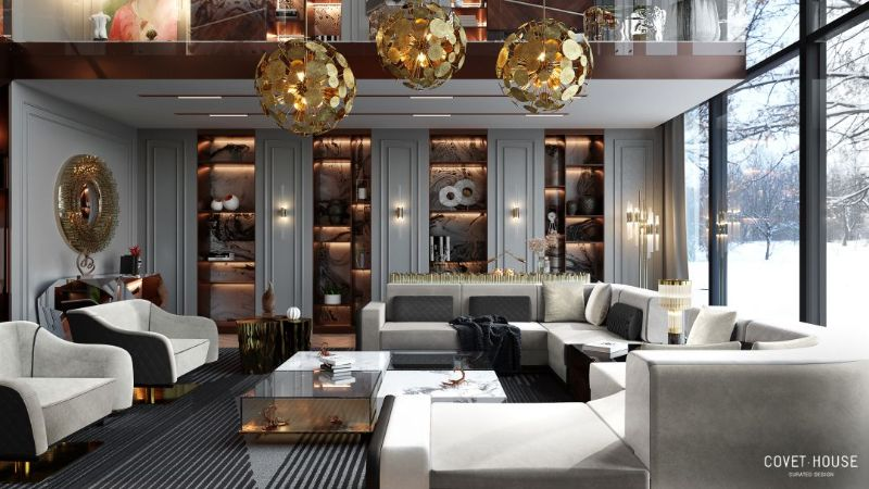 Modern Inspirations For a Luxury Home Design Luxury Living Room Setting