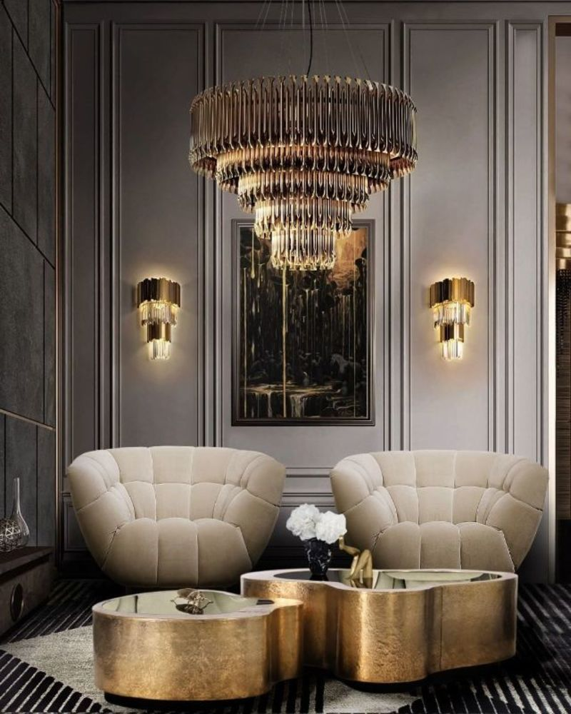 Luxury Living Room Ideas For A Sophisticated Home Wave Center Table