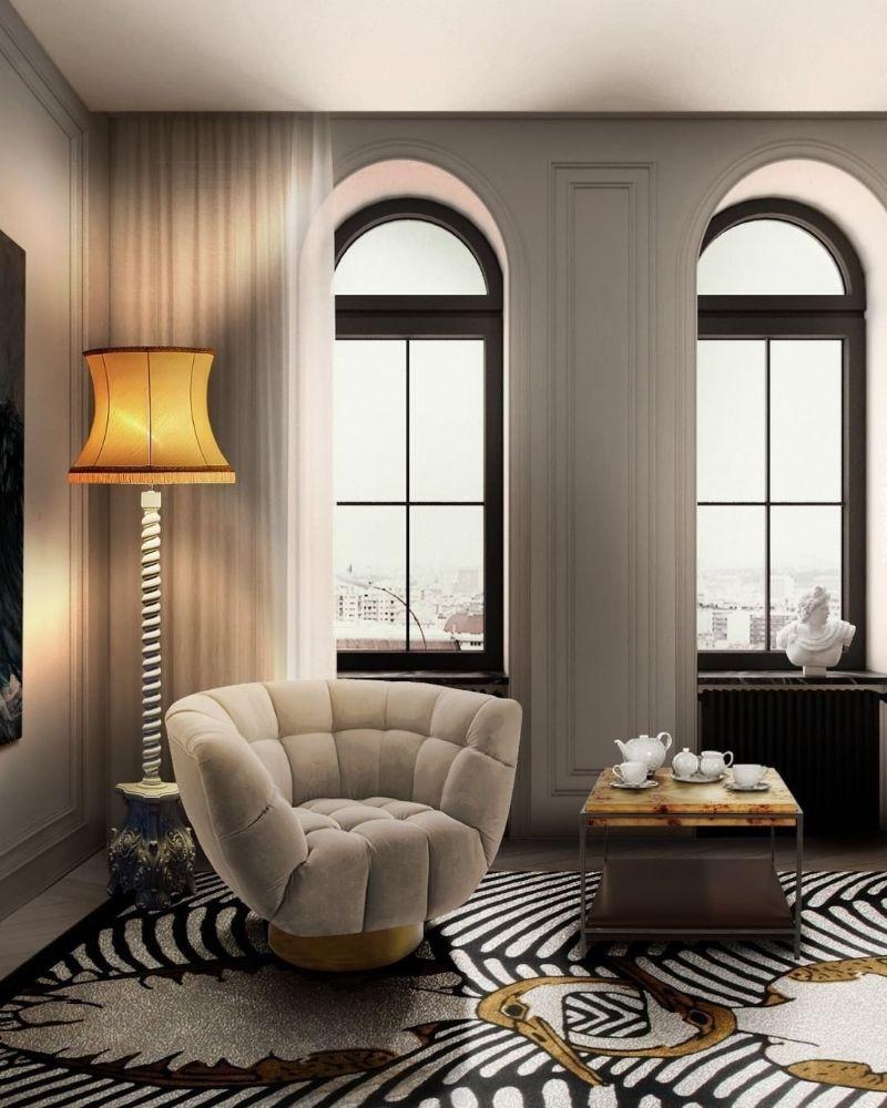 Modern Inspirations For a Luxury Home Design Skyscraper Floor Lamp