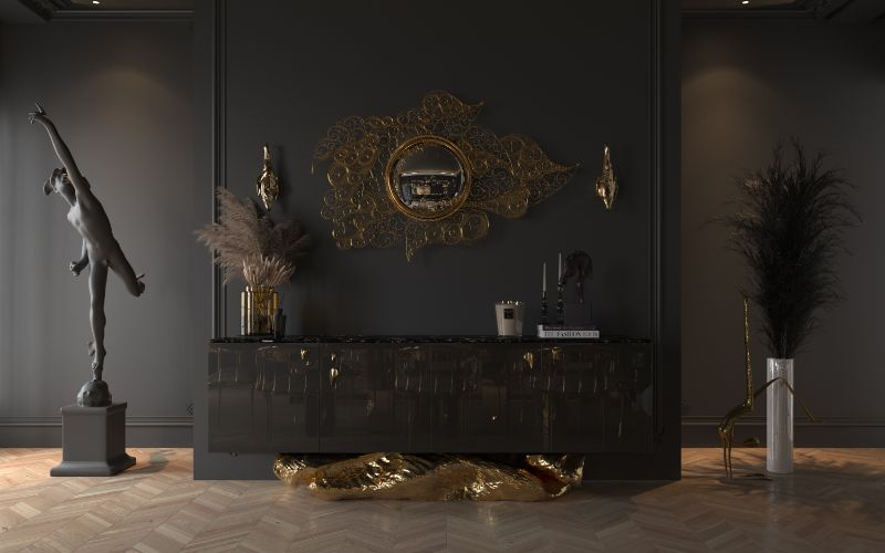 Luxury Living Room Ideas For A Sophisticated Home Filigree Mirror