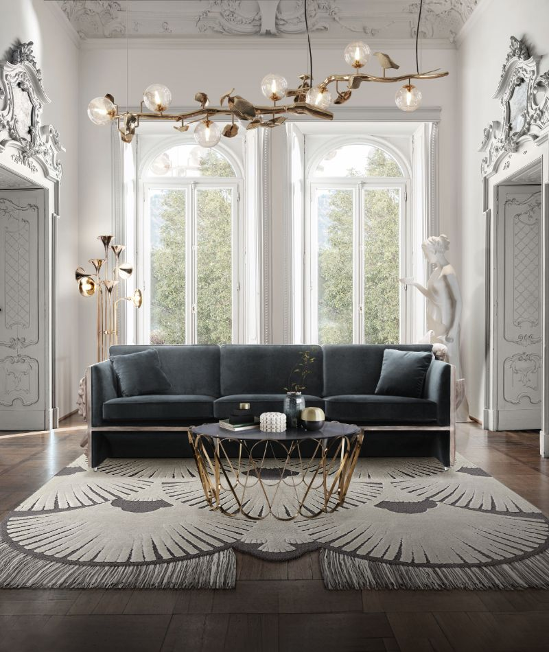 Modern Inspirations For a Luxury Home Design Versailles Sofa