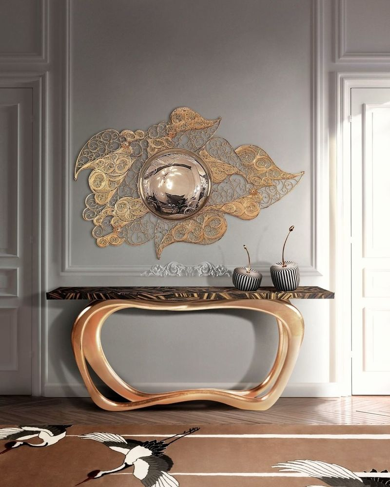 Luxury Mirrors That Will Make Your Master Bedroom Bigger Filigree Mirror