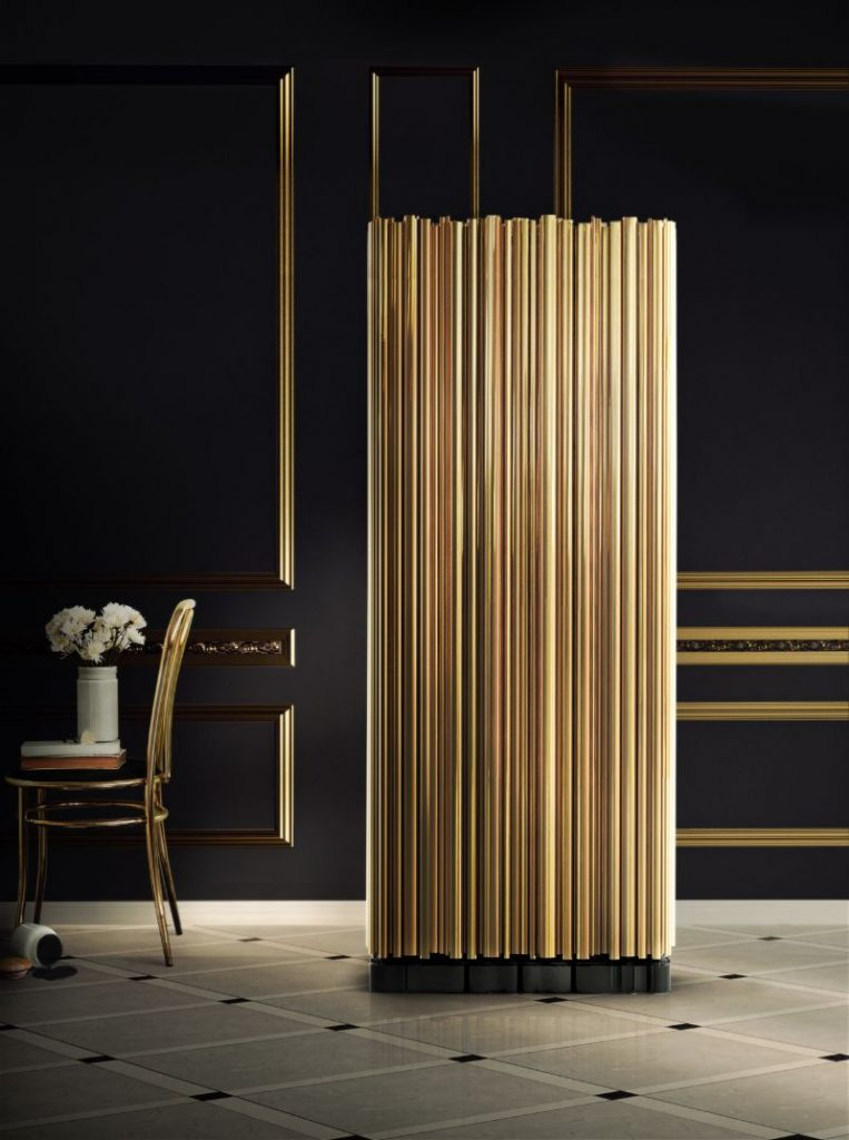Brass Modern Buffets and Cabinets For A Luxury Design