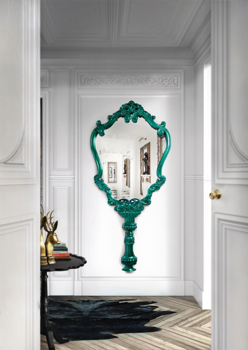 Luxury Mirrors That Will Make Your Master Bedroom Bigger Marie Thérèse Wall Mirror