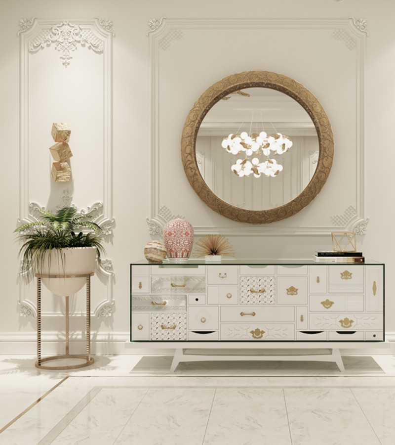 How Interior Designers Style An Alluring Entryway Design