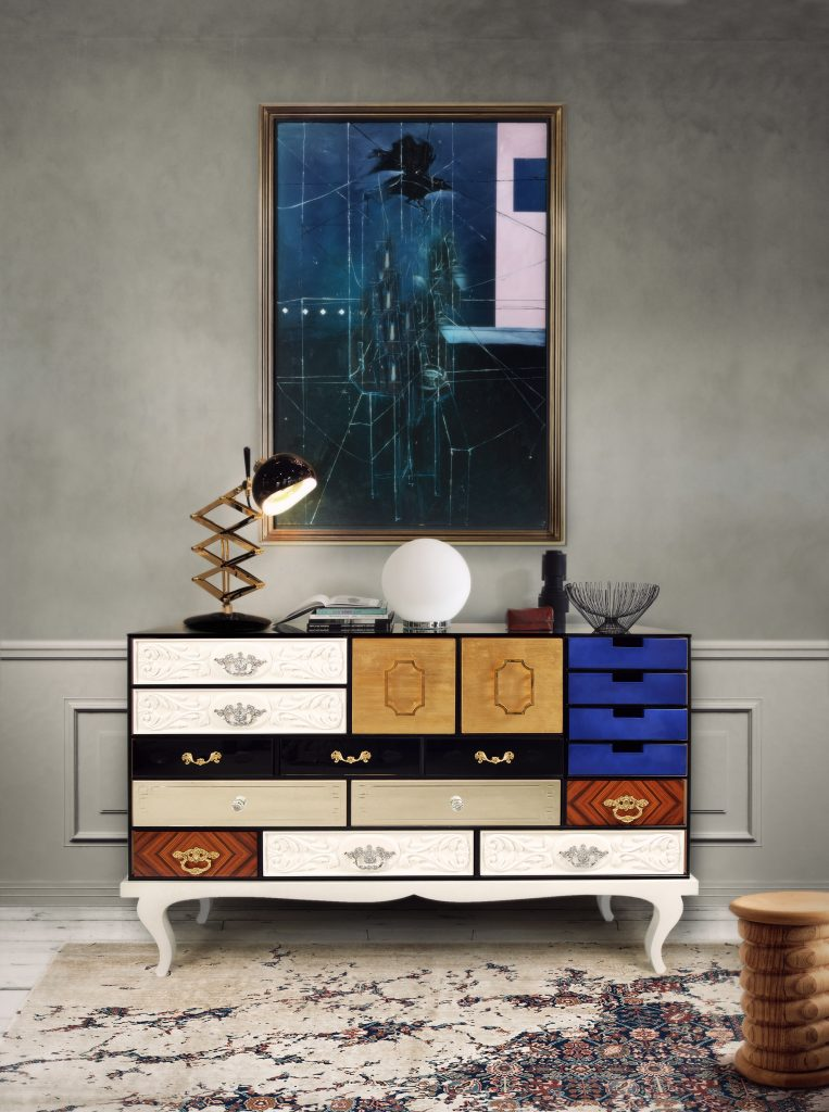 Modern Sideboards For Your Colorful Interior Project